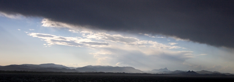 Storm over Byron