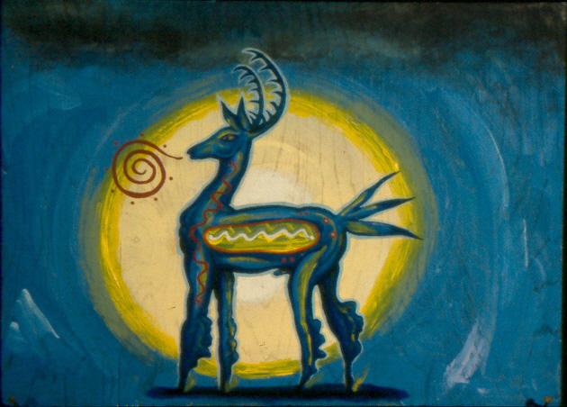 __blue_deer___by_joegalarza-d4eyff0