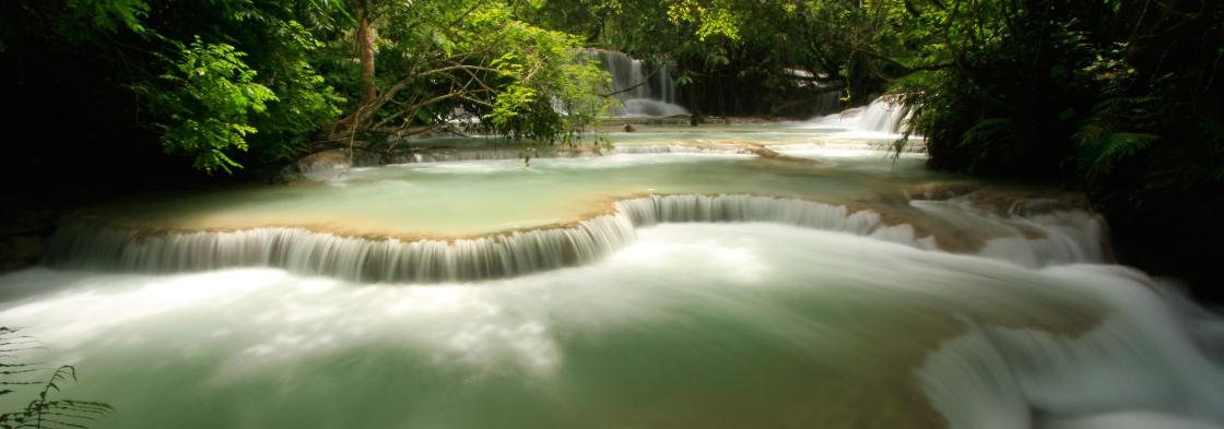 Luang Probang waterfall
